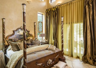 Scrimshaws Portfolio Elegant Custom Designed Bedroom