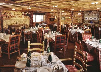 Scrimshaws Portfolio Wits End Dining Room