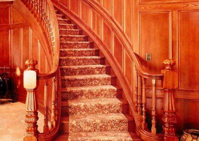 wooden-stairwell
